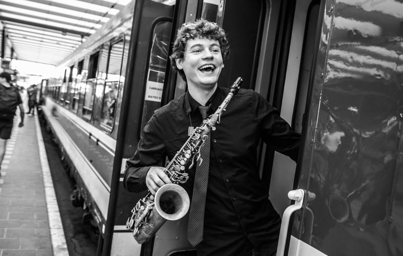 Even voorstellen: saxofonist Thijs Nissen