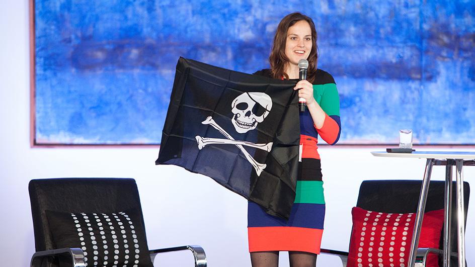 Innovator en piraat: Kim Spinder spreker tijdens Futureproof door kunst & cultuur